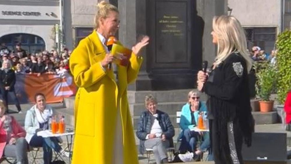 Superstar Bonnie Tyler war am Sonntag (10. Oktober) zu Gast bei ZDF-Fernsehgarten Moderatorin Andrea Kiewel.