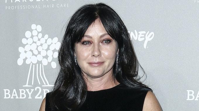 Shannan Doherty, Schauspielerin aus den USA, steht bei der Baby2Baby-Gala auf dem Roten Teppich. Doherty kämpft nach einer zwischenzeitlichen Besserung erneut gegen Brustkrebs.