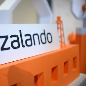 Zalando startet einen Reparaturservice. Zu sehen ist das Logo des Online-Versandhändlers Zalando, aufgenommen am 31. Mai 2016.