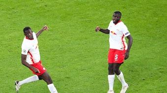 Von RB Leipzig im Sommer verkauft: Ibrahima Konate (l.) und Dayot Upamecano.
