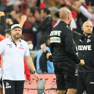 Steffen Baumgart im Spiel des 1. FC Köln gegen Greuther Fürth.