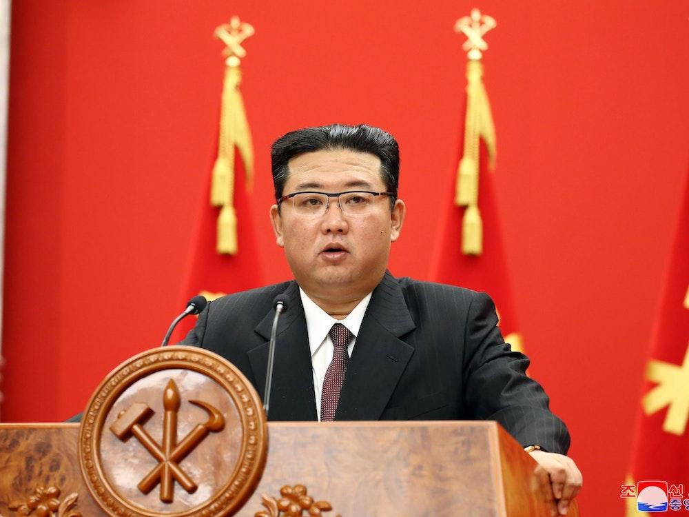 Nordkorea: Diktator Kim Jong Un spricht über düstere Lage des Landes