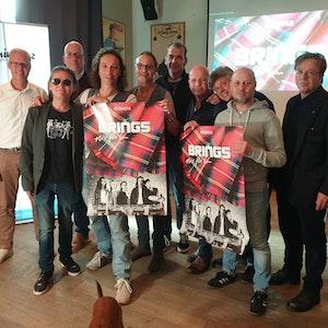 Brings-Film: Band präsentiert Film und Filmplakat am 13. Oktober 2021 im Gaffel am Dom.
