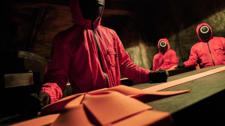 """""""Squid Game"""" auf Netflix 2021: Die brutale Serie wird nun Realtität. Unser Foto zeigt ein Szenenbild."""