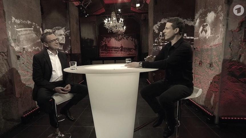 Ralf Rangnick im Gespräch mit Moderator Alexander Bommes