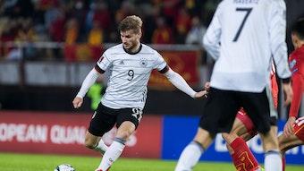 Perfekt gezirkelt: Timo Werner beim 3:0.