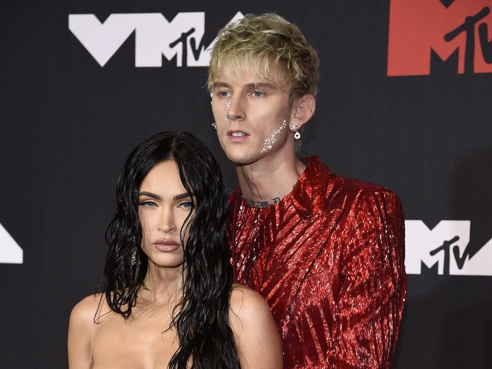 Megan Fox und Machine Gun Kelly an den MTV Video Music Awards am 12. September 2021 in New York. Megan Fox hat auf Instagram über ihr Sexleben geplaudert.
