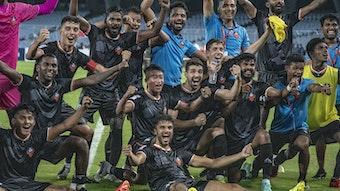 Glückliche Sieger: Der FC Goa bezwang den Mohammedan Sporting Club und gewann bei der 130. Ausgabe zum ersten Mal den Durand Cup, das älteste und traditionsreichste Fußball-Turnier in Asien.