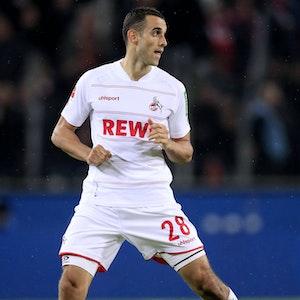 Ellyes Skhiri spielt für den 1. FC Köln gegen Greuther Fürth.
