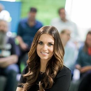"""RTL-Moderatorin Laura Wontorra (hier auf einem Archivbild von 2017): Sie steht für die 6. Staffel """"Ninja Warrior Germany"""" vor der Kamera."""