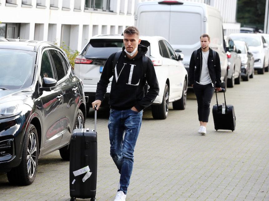 Dejan Ljubicic kommt beim 1. FC Köln am Geißbockheim an.