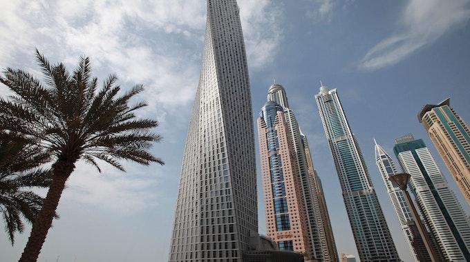 Blick auf Hochhäuser in Dubai. Dort wurde der 25-jährige Billy Hood mit Cannabis-Öl erwischt.