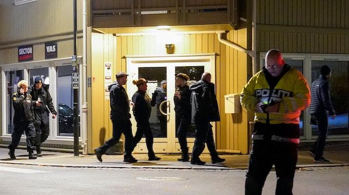Gewalttat nahe Oslo: In Norwegen hat am 13. Oktober ein Mann fünf Personen getötet.