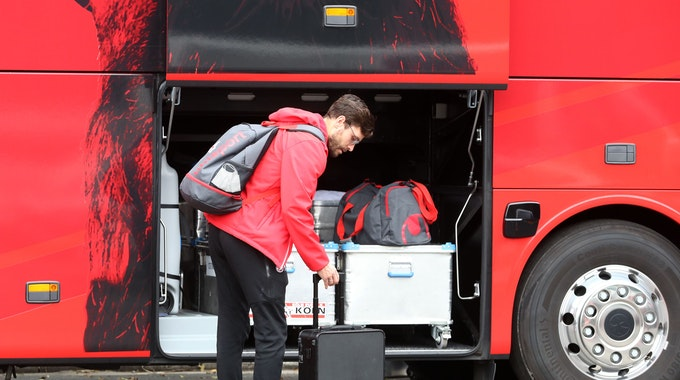 Jonas Hector fährt mit dem 1. FC Köln zur TSG Hoffenheim.