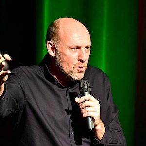 Sven Pistor auf der Bühne