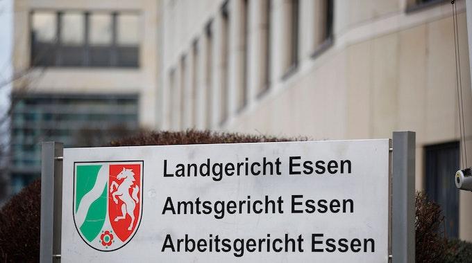 Das Landgericht in Essen, Außenaufnahme.