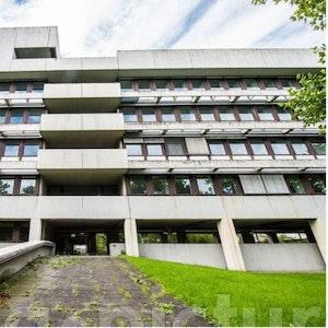 Das ehemalige Bonner Polizeipräsidium an der Olof-Palme-Allee