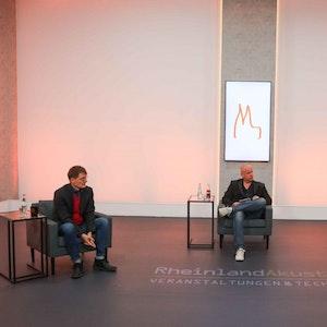 Kanzler-Sohn Walter Kohl und Karl Lauterbach waren Gäste beim Köln-Talk Loss mer schwade.