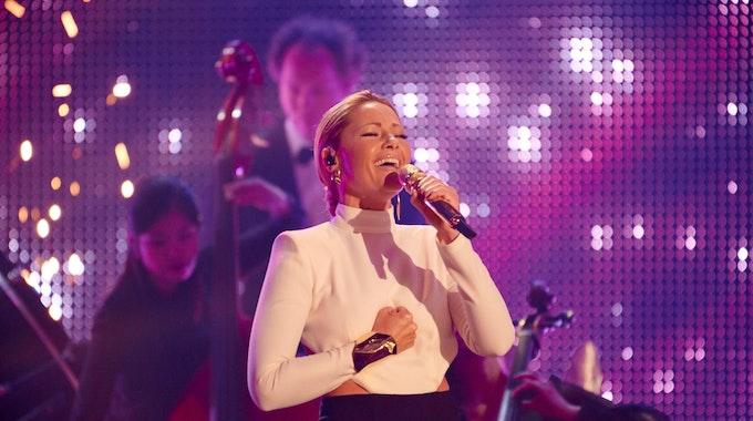 Die Sängerin Helene Fischer tritt beim RTL Jahresrückblick auf.