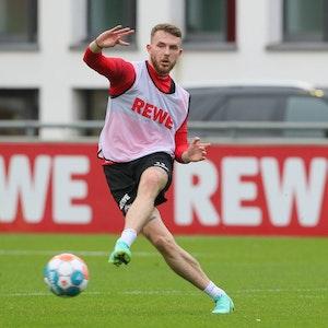 Jannes Horn trainiert nach seiner Verletzung wieder beim 1. FC Köln.