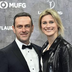 Matthias Dolderer und Britta Heidemann bei der Verleihung der 20. Laureus World Sports Awards 2020 in der Verti Music Hall Berlin.