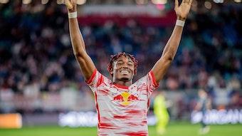 Will mit RB Leipzig auch gegen Fürth jubeln: Mohamed Simakan.