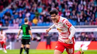 Soll in Babelsberg gleich nachlegen: RB Leipzigs U19-Stürmer Hugo Novoa.