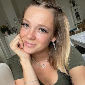Anne Wünsche, Influencerin, postete dieses Selfie am 6. September 2021 auf Instagram