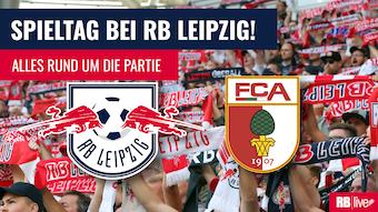 RB Leipzig empfängt den FC Augsburg.