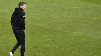 Nürnbergs Cheftrainer Robert Klauß nach der Pleite gegen den SV Sandhausen.