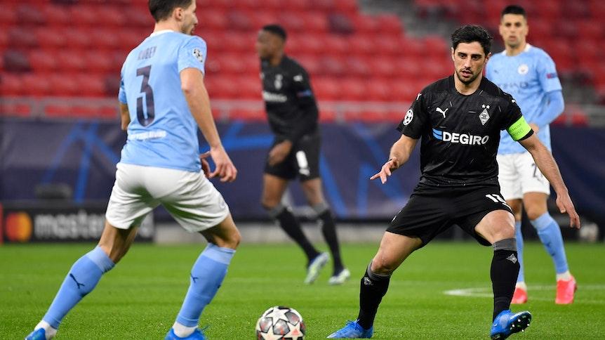 Gladbach spielt in der Champions League heute Abend in Budapest (Ungarn) gegen Manchester City.