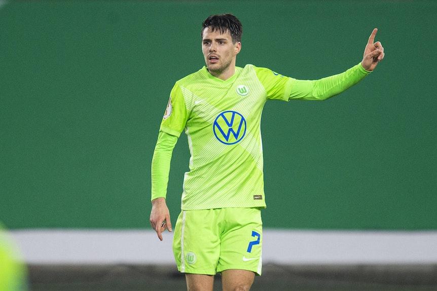 Wolfsburgs Flügel Josip Brekalo kann gegen RB Leipzig auflaufen
