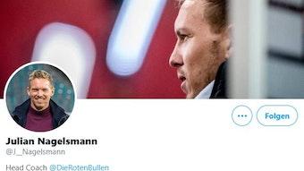 Julian Nagelsmann hat nach wenigen Stunden schon mehr als 3.000 Follower auf Twitter gesammelt.