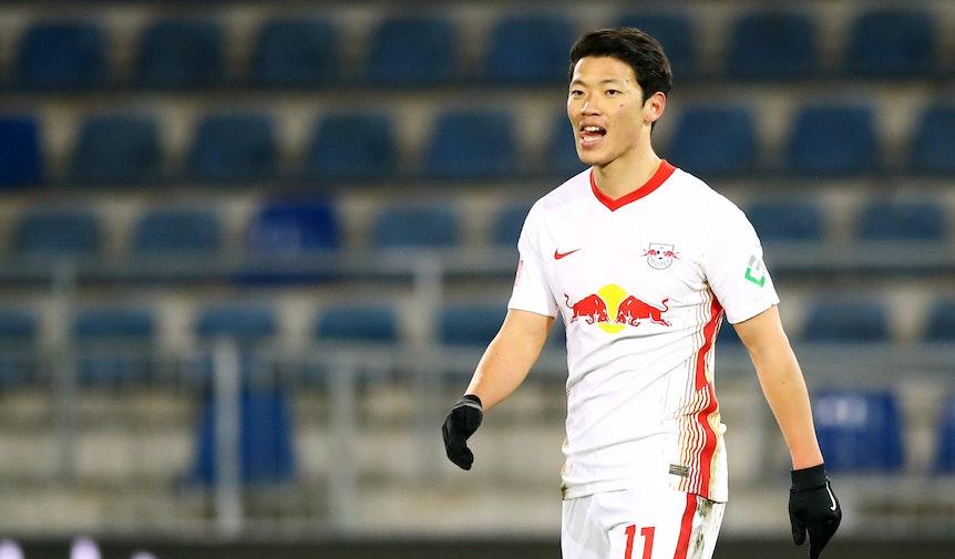 Hee-chan Hwang durfte gegen Bielefeld 21 Minuten absolvieren und traf am Folgetag vier Mal bei der U19.