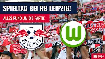 RB Leipzig empfängt den VfL Wolfsburg.