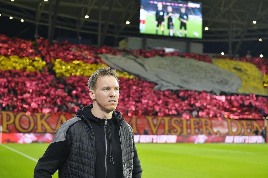 """Julian Nagelsmann und die Fans von RB: """"wenig Bindung durch Corona"""""""
