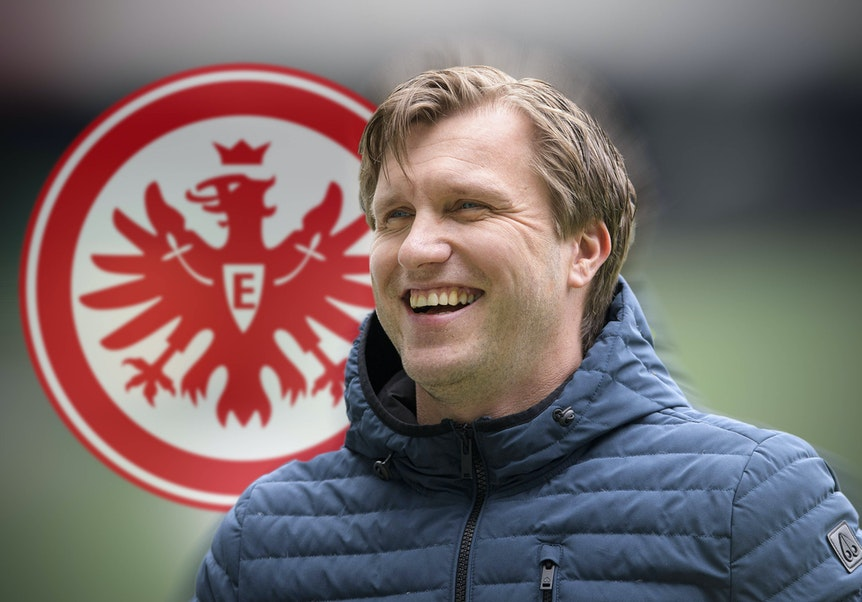 Vertrag bei Eintracht Frankfurt bis 2025: Markus Krösche.