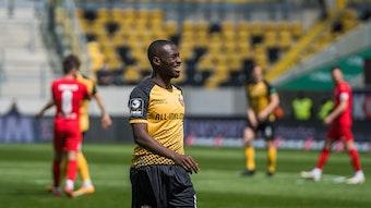 Dresdens Agyemang Diawusie hat wieder Spielzeit bei Alexander Schmidt.