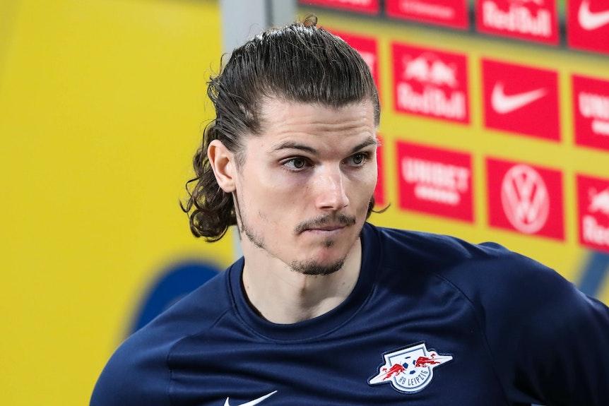 Marcel Sabitzer soll bei RB Leipzig eine Ausstiegsklausel besitzen.