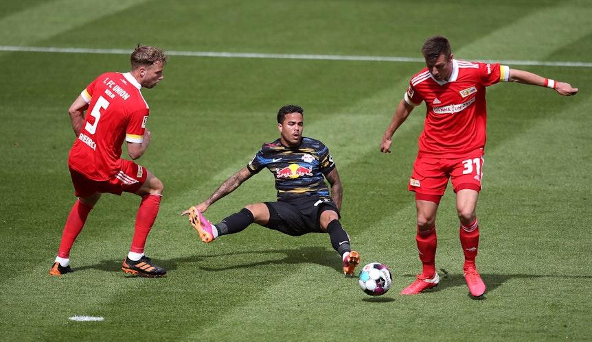 2:1: So ging auch das Spiel für Justin Kluivert gegen Union aus.
