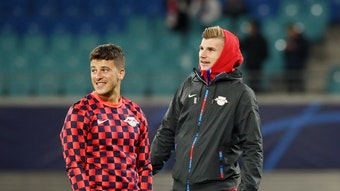 Waren mal Leipziger Teamkollegen: Diego Demme und Timo Werner