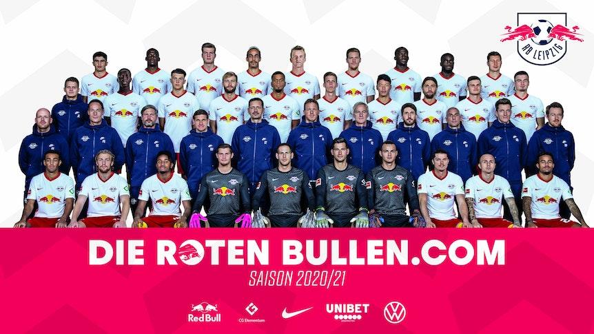 Der Kader von RB Leipzig in der vergangenen Saison