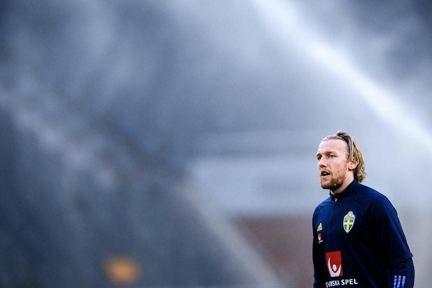 """""""Es wird immer Spiele geben, in denen es nicht perfekt läuft, aber solange du mental stark bist, hilfst du auch deiner Mannschaft"""": Emil Forsberg."""