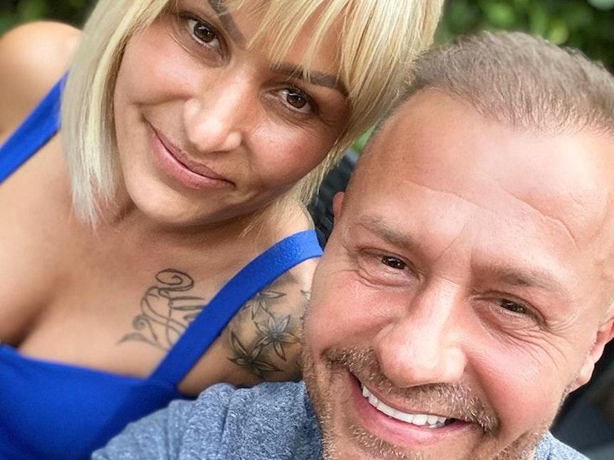 Willi Herren und Jasmin Herren lächeln im Februar 2021 auf einem Selfie. Die beiden planten offenbar ein Liebescomeback.