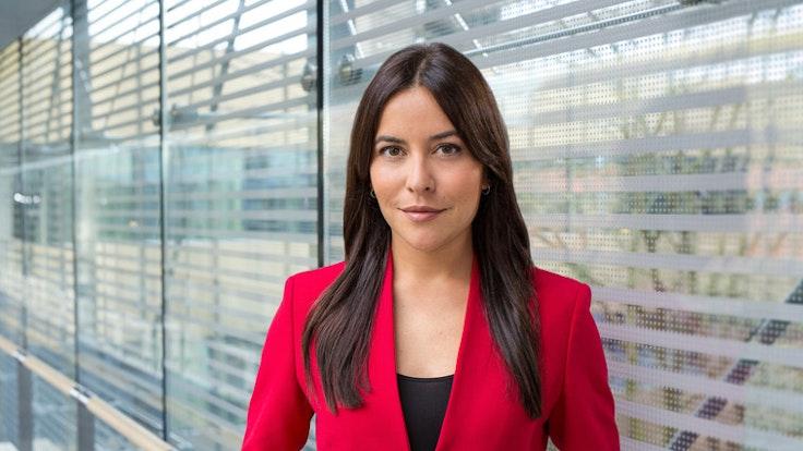 """Aline Abboud wird die neue Moderatorin bei den """"Tagesthemen""""."""