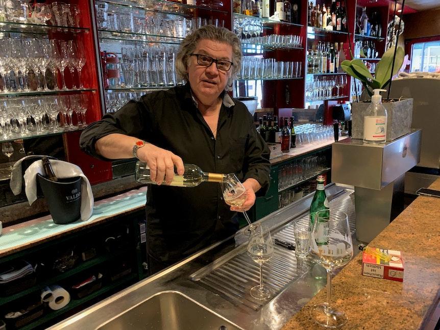 Paolo Ferraresso hört im Restaurant Bepi an der Breite Straße in Köln zum 31. Dezember 2021 auf.
