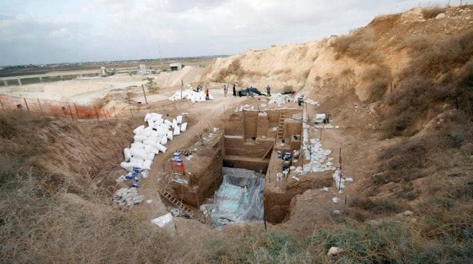 In dieser Ausgrabungsstelle wurde der bisher unbekannte Urmensch entdeckt