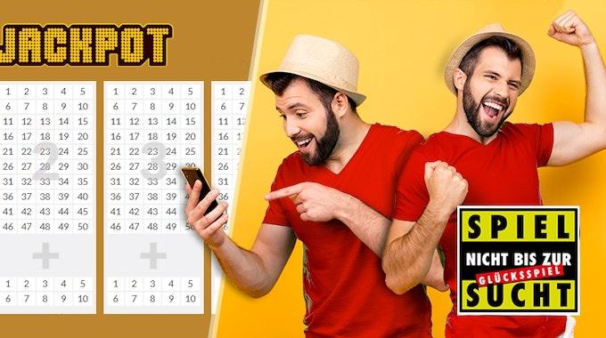 Jeden Freitag gibt's beim Eurojackpot die Chance auf hohe Gewinne.