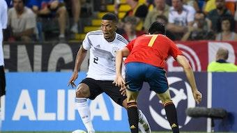 Sein bislang letztes Auswahlspiel: Benjamin Henrichs gegen Spanien im U21-EM-Finale 2019.