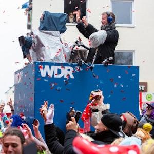 Rosenmontag in Köln mit dem WDR